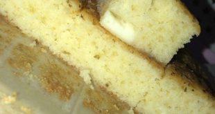 كيكة مالحة بالجبن والزعتر لذيذة
