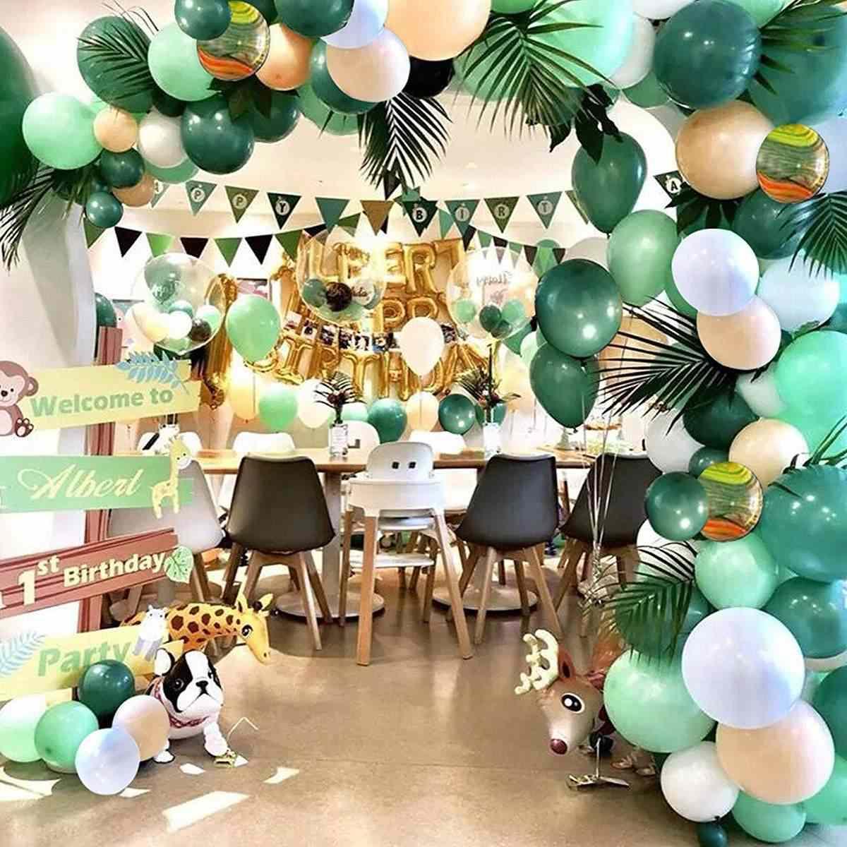 البالونات زينه الحفلات