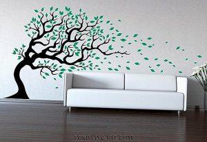 صورة طريقة رسم الشجرة على الجدار تلبية لطلب العضوات unnamed file 501 300x205