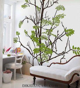 صورة طريقة رسم الشجرة على الجدار تلبية لطلب العضوات unnamed file 502 275x300