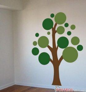 صورة طريقة رسم الشجرة على الجدار تلبية لطلب العضوات unnamed file 507 278x300