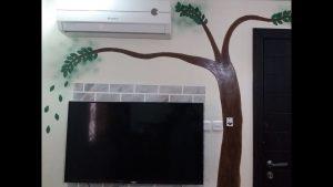صورة طريقة رسم الشجرة على الجدار تلبية لطلب العضوات unnamed file 509 300x169