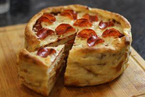 بالصور كيكة البيتزا