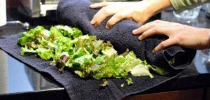 طريقه حفظ الخضروات والورقيات في الثلاجه