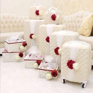 تزيين وترتيب جهاز العروس