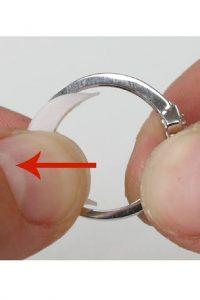 طريقة تصغير الخاتم بدون ما تقصيه عند الصايغ وتخسري