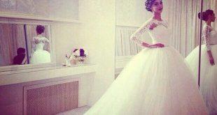 صور الفستان الاصلية لعيون العروس المتوهقة