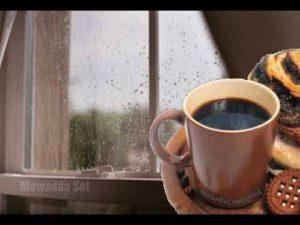 قهوة العصر مع المطر ماشاء الله تبارك الله