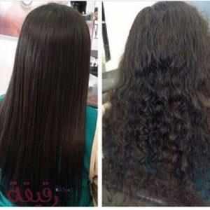 معالج الشعر بالبروتين